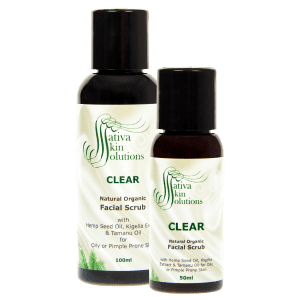Sativa Clear Facial Scrub