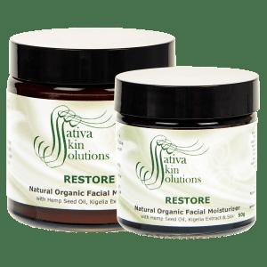 AS08 - Sativa Restore Facial Moisturiser