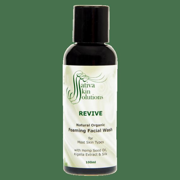 Sativa Revive Facial Wash 100ml