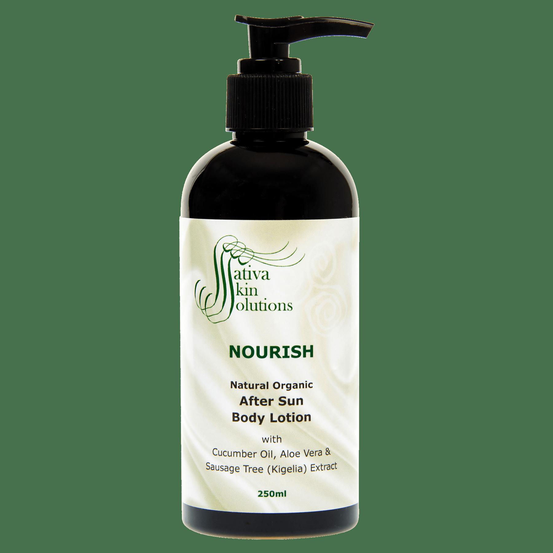 Sativa Nourish After Sun Body Lotion Arianrhod Aromatics