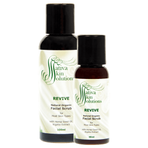Sativa Revive Facial Scrub