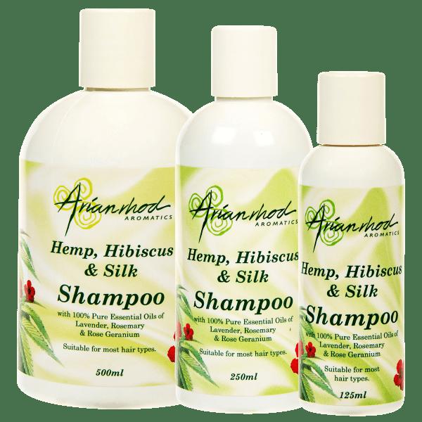 Hemp Hibiscus and Silk Shampoo