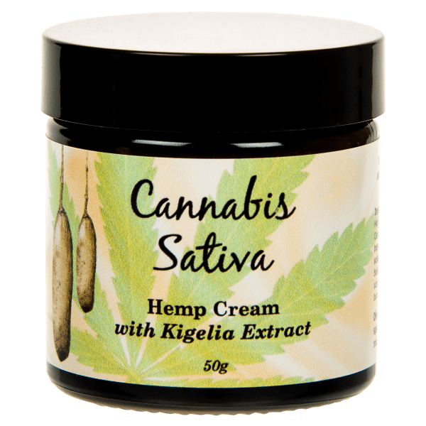 Hemp Cream with Kigelia 50g