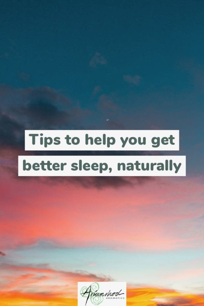 Tips to get better sleep naturally Pin 1