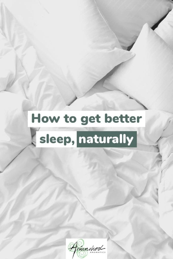 Tips to get better sleep naturally Pin 2