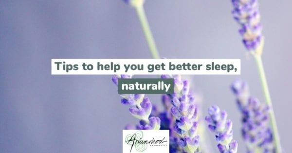 Tips to get better sleep naturally header