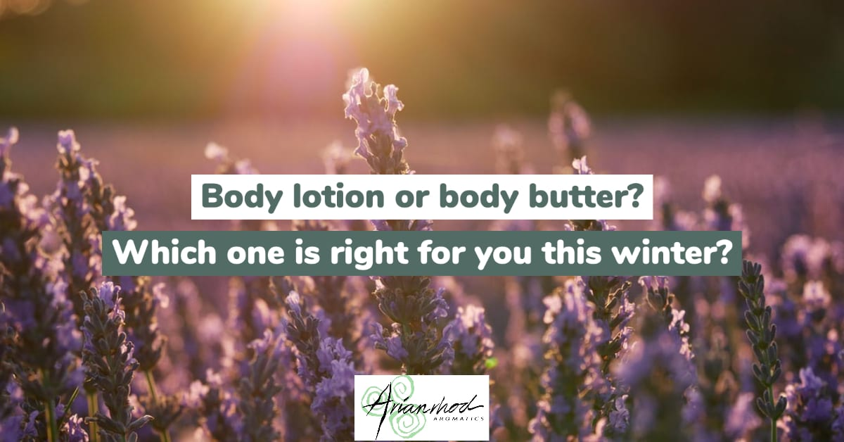 Body lotion or body butter? Which one is right for you this winter?
